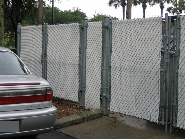 Chain Link Privacy Fence Tampa Florida