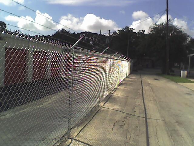 Chain Link Security Fence Tampa Florida